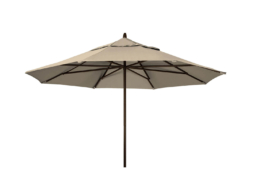 11 Powdercoat Aluminum Commerical Market Umbrella