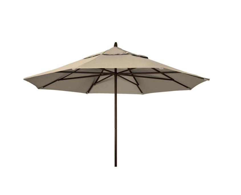 11 Powdercoat Aluminum Commerical Market Umbrella
