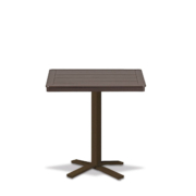 32_MGP Square Bar Height Pedestal Table with hole