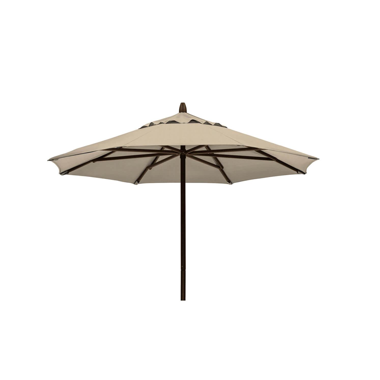 7.5 Powdercoat Aluminum Commercial Market Umbrella