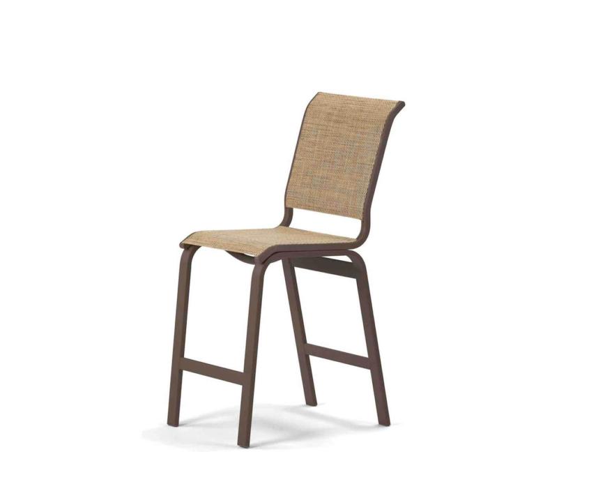 Aruba Balcony Height Armless Cafe Chair