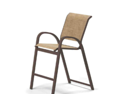 Aruba Balcony Height Stacking Cafe Chair