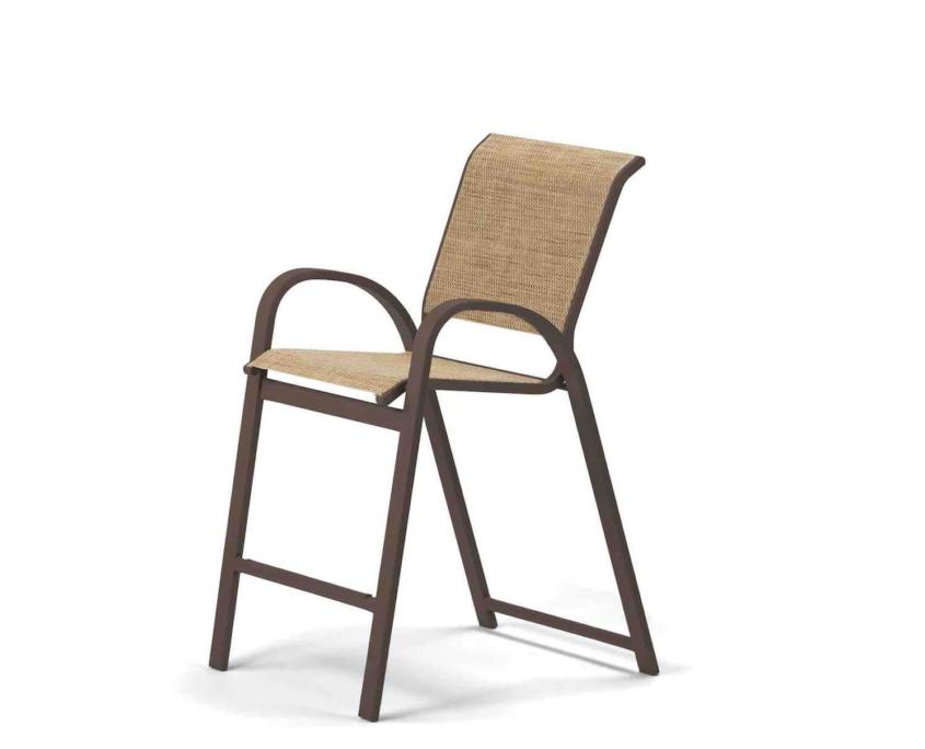 Aruba Balcony Height Stacking Cafe Chair