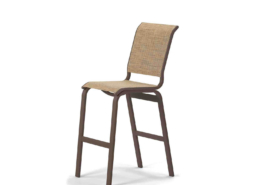 Aruba Bar Height Armless Cafe Chair