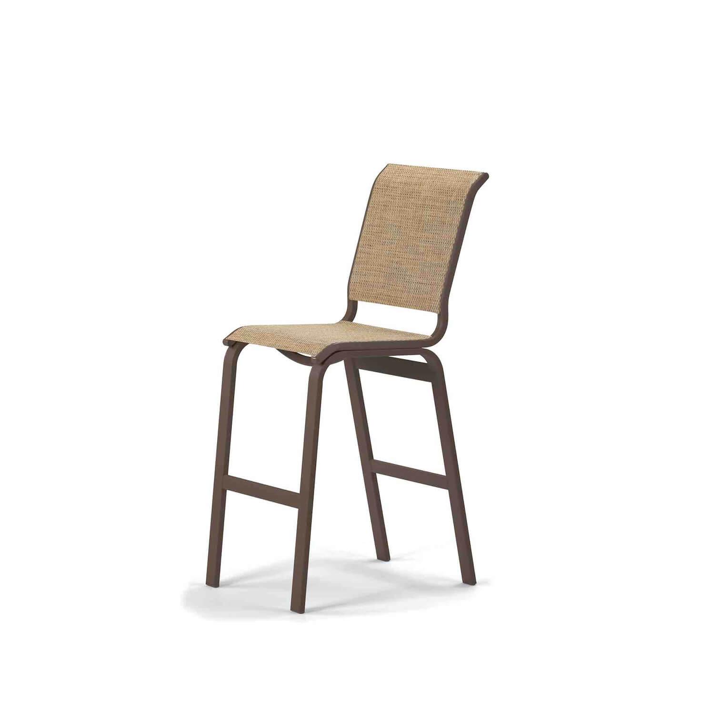 Aruba Bar Height Armless Cafe Chair