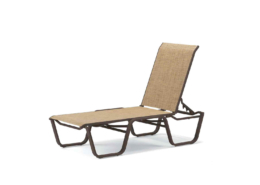 Aruba Lay flat Stacking Armless Chaise