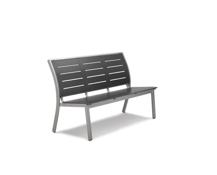 Bazza 56 Stacking Armless Bench