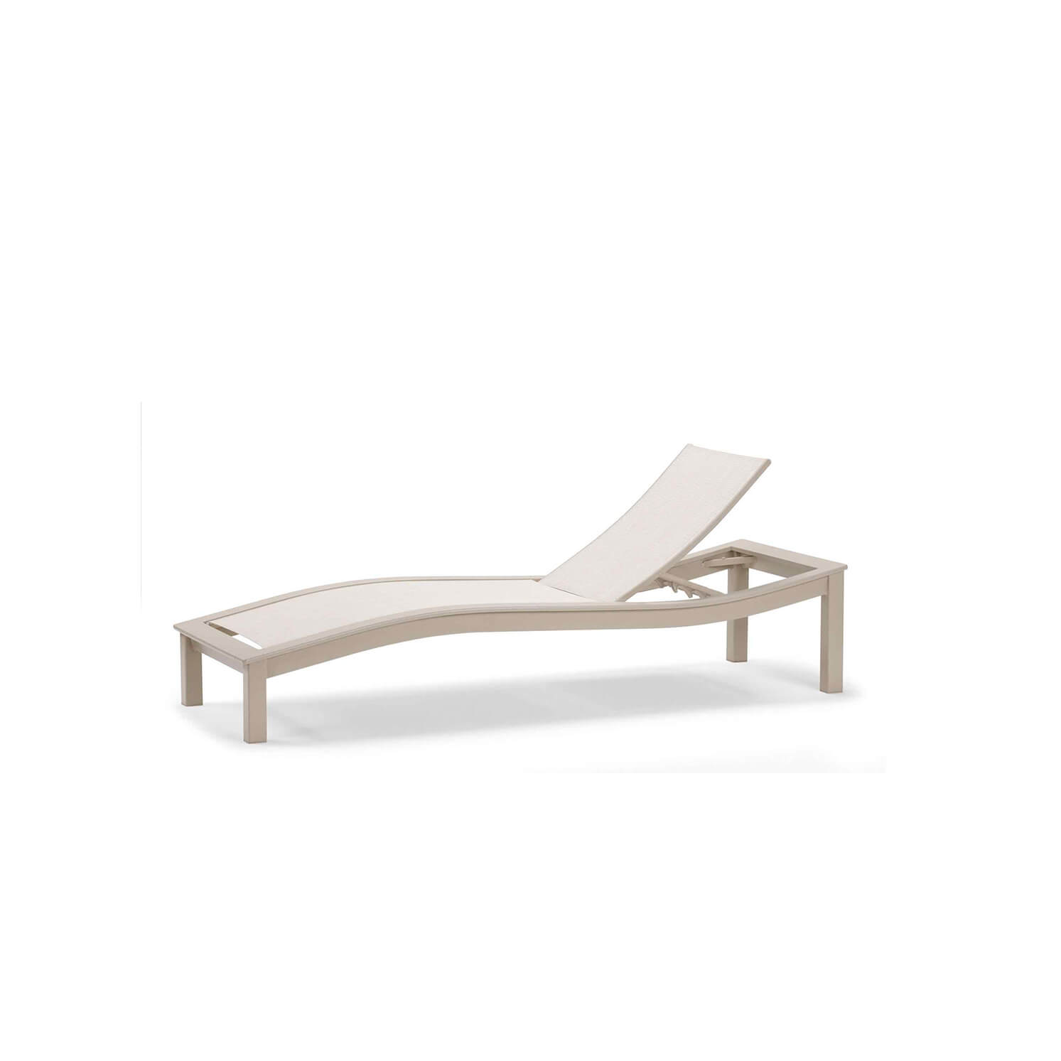Bazza Contour Armless Chaise