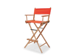 Director Chair Balcony Height Arm Chair